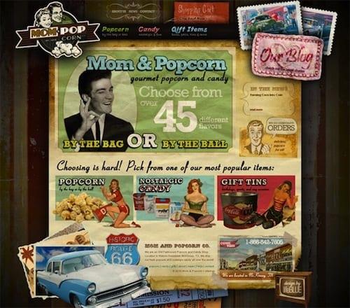 ecommerce-mom and popcorn