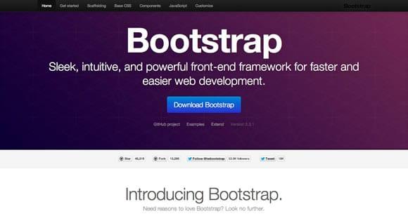 bootstrap desain web responsive