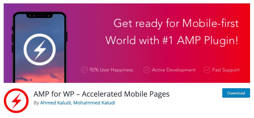 AMP for WP - Plugin untuk WordPress