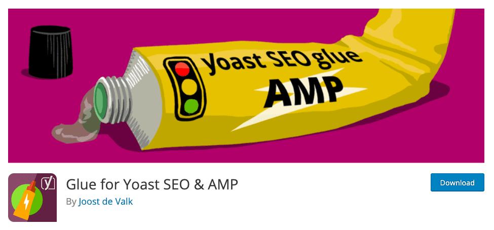 Download Glue for Yoast SEO & AMP untuk plugin AMP di WordPress