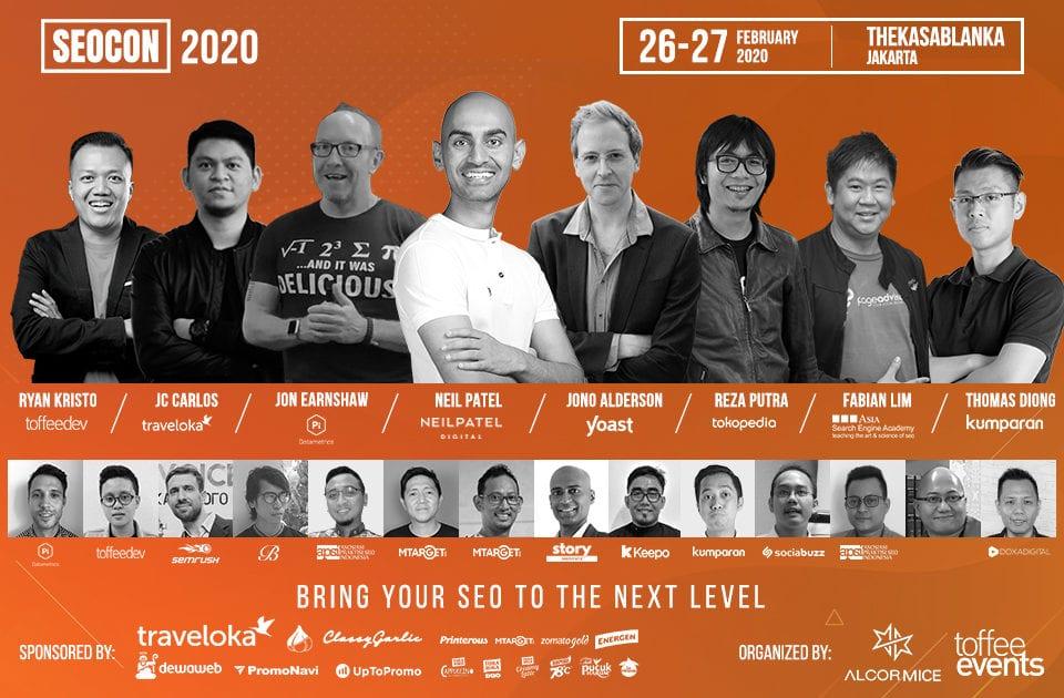 SEOCON 2020: Menuju Acara SEO Conference 2020