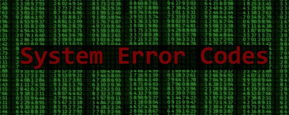 Kode Error pada Website